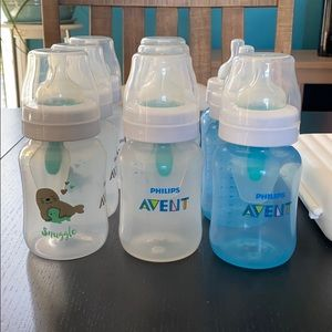 Phillips Avent Anti-colic Bottle Bundle with Rack